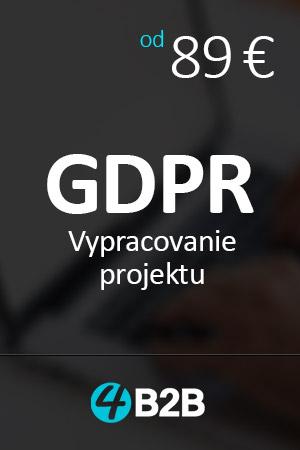 vypracovanie GDPR projektu